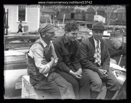 MacMillan Expedition ceremony, Wiscasset , 1926
