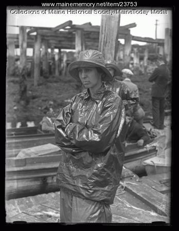 Mrs. Rowe B. Metcalf, Wiscasset, 1926