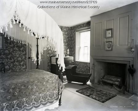 Guest room, Wadsworth-Longfellow House, Portland, 1902