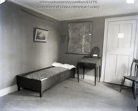 Boy's room, Wadsworth-Longfellow House, Portland, 1902