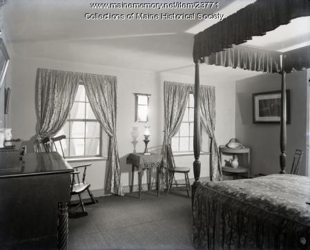 H.W. Longfellow's bedroom, Portland, 1904