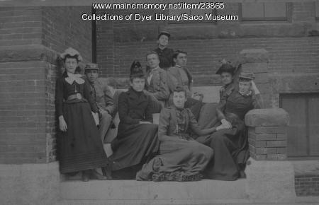 Thornton Academy Students, 1891