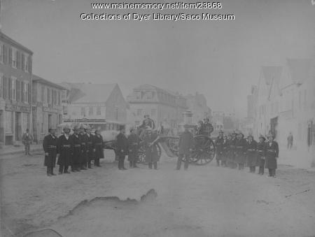 Saco Fire Brigade, ca. 1890