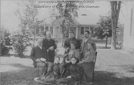 Bonython School Employees, Saco, ca. 1898