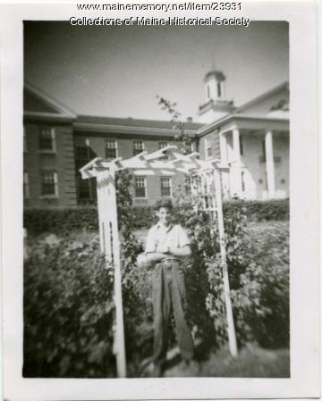 Richard Liberty, New Gloucester, ca. 1945