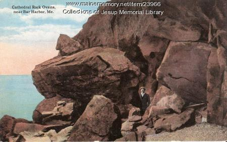 Cathedral Rock Ovens, near Bar Harbor, ca. 1905