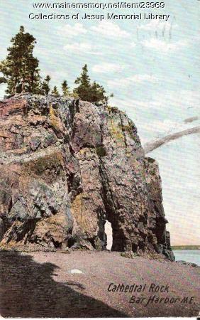 Cathedral Rock, Bar Harbor, 1908