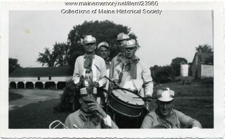 Pownal State School band, ca. 1955