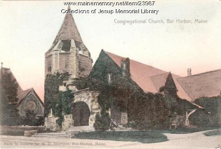 Congregational Church, Bar Harbor, ca. 1940