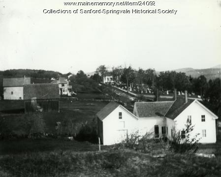 Approach to Limerick from Waterboro, ca. 1900