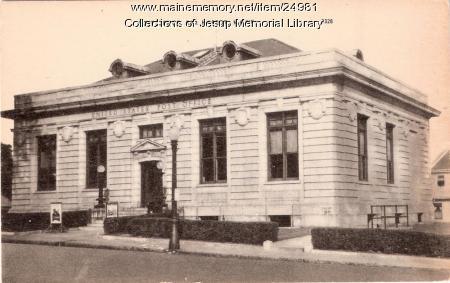 Post Office, Bar Harbor, ca. 1948