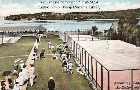 Swimming Pool, Bar Harbor, ca. 1905