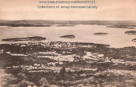 Bar Harbor and the Porcupines, ca. 1900