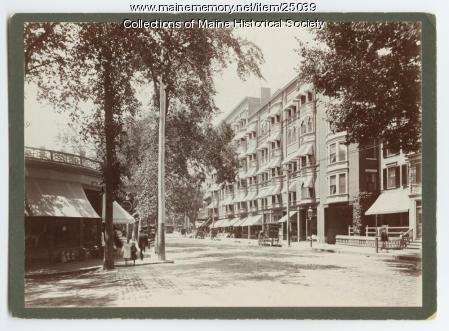 Columbia Hotel, Portland, ca. 1902