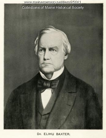 Dr. Elihu Baxter, Portland, ca. 1850