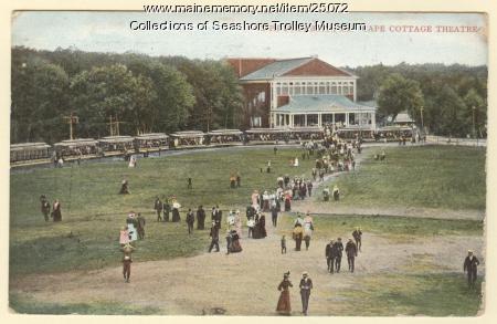 Cape Cottage Theatre, Cape Elizabeth, ca. 1900
