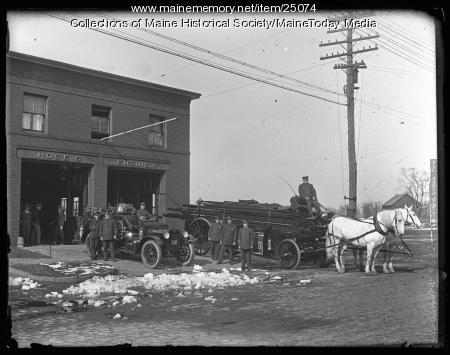 Hose 6 and Ladder 6, Portland, ca. 1924