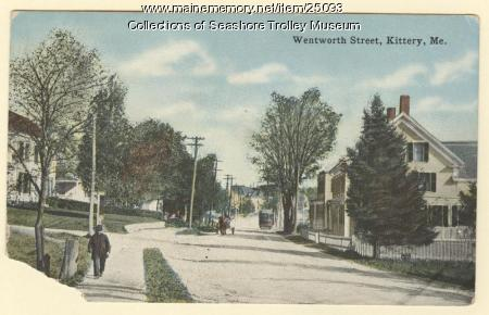 Wentworth Street, Kittery, ca. 1900