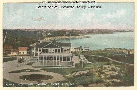 Cape Cottage Casino, Cape Elizabeth, ca. 1908