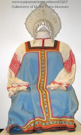 Sarafan costume, Moscow, 1983