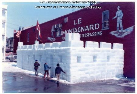 Le Montagnard clubhouse, Lewiston, 1985
