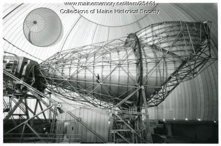 Horn antenna, Andover, 1962
