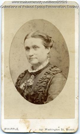 Janette Wheeler Bolster Ricker, ca. 1880