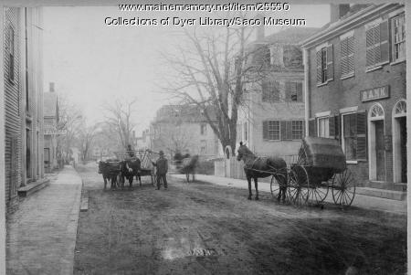 Storer Street, Saco, ca. 1880