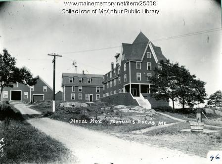 Hotel Rox, Biddeford, 1911