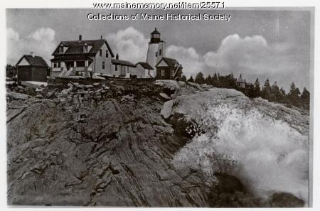 Pemaquid Point Light, ca. 1930