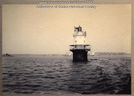 Spring Point Ledge Lighthouse, ca. 1940