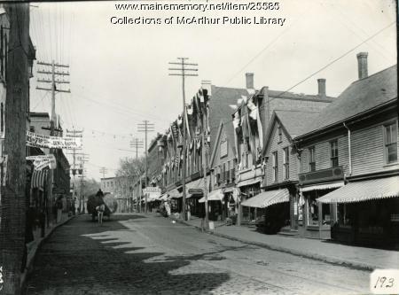 Main Street, Biddeford, October 1909