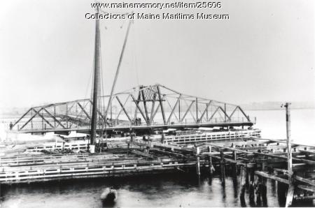 Portland-South Portland bridge, ca. 1890