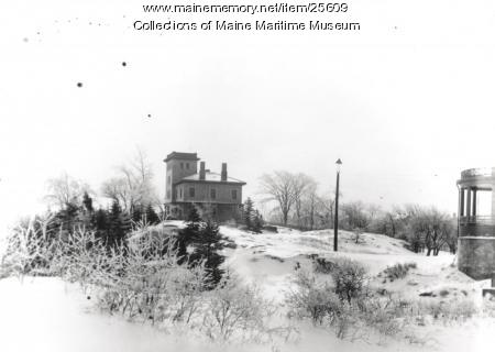 Goddard mansion, Cape Elizabeth, ca. 1900