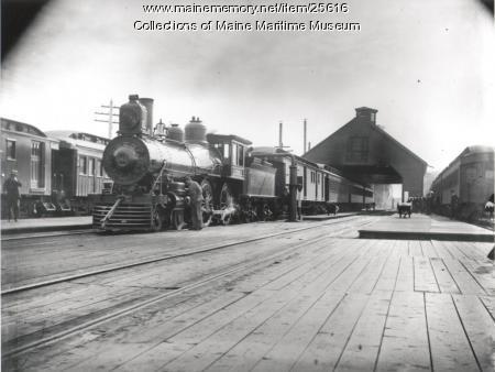 Maine Central Depot, Portland, ca. 1900