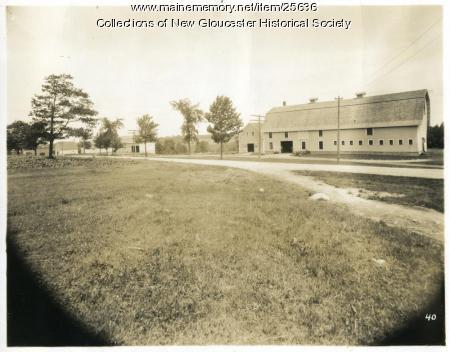 Hill Farm, New Gloucester, ca. 1937