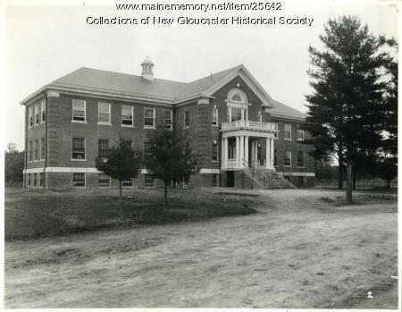 Pownal Hall, Pownal State School, ca. 1937