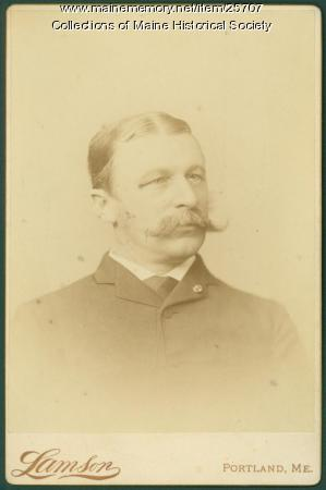 John Marshall Brown, Portland, ca. 1880