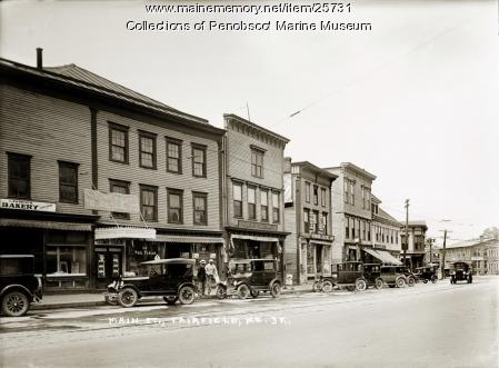 Main Street, Fairfield, ca. 1925