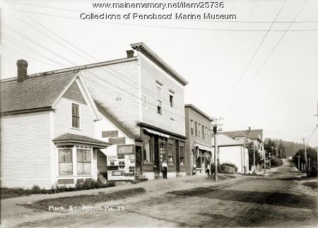 Main Street, Mexico, ca. 1915