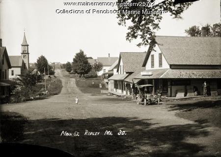 Main Street, Ripley, 1920