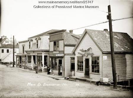 Main Street, Stonington, ca. 1910