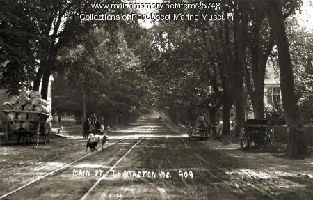 Main Street, Thomaston, ca. 1910