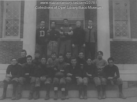 Thorton Academy Football Team, 1923