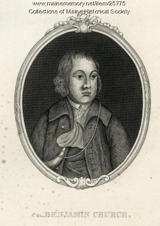 Benjamin Church, ca. 1675