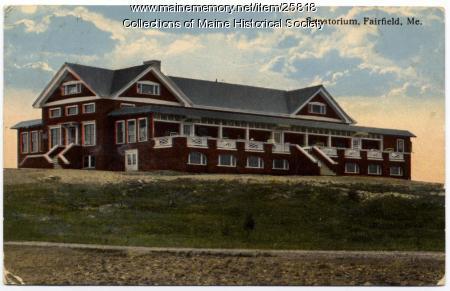 Chase Memorial Sanatorium, Fairfield, ca. 1914