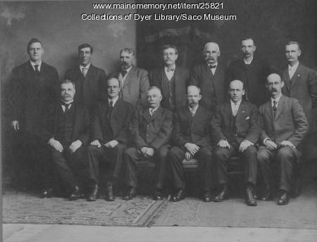 First Traverse Jury in York County, Saco, 1910