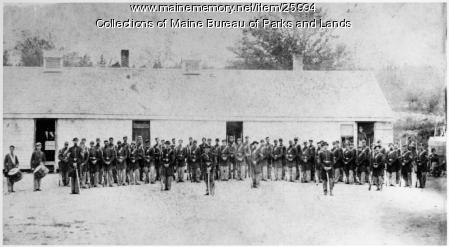 Infantry, Fort Knox, ca. 1862