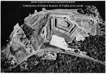 Aerial Photo of Fort Knox, ca. 1980