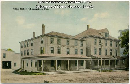 Knox Hotel, Thomaston, ca. 1913